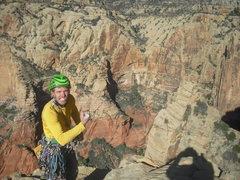 Rock Climbing Photo: Going full Warren.