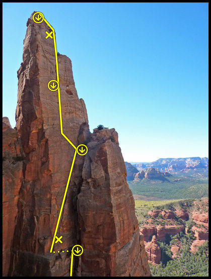 "Rock Climbing Photo: ""Touched By An Angel""; North Face of Ear..."