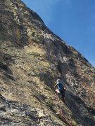 Rock Climbing Photo: Ken on P1