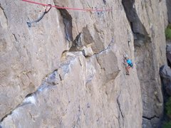 Rock Climbing Photo: Dede following P1...