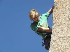 Rock Climbing Photo: J.S. on D.B.