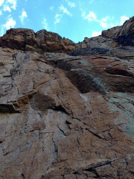 Rock Climbing Photo: Base beta photo.