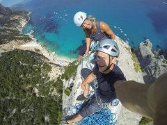 Rock Climbing Photo: Top of Aguglia, Cala Gonone, Sardinia, Italy. Augu...