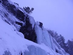 Rock Climbing Photo: It dumped over a meter and a half of snow on this ...