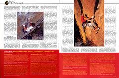 """Rock Climbing Photo: An excerpt of """"Head Games"""" by Matt Samet..."""