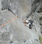 Rock Climbing Photo: Nate Rice on Pitch 3