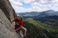 Rock Climbing Photo: Loooose j