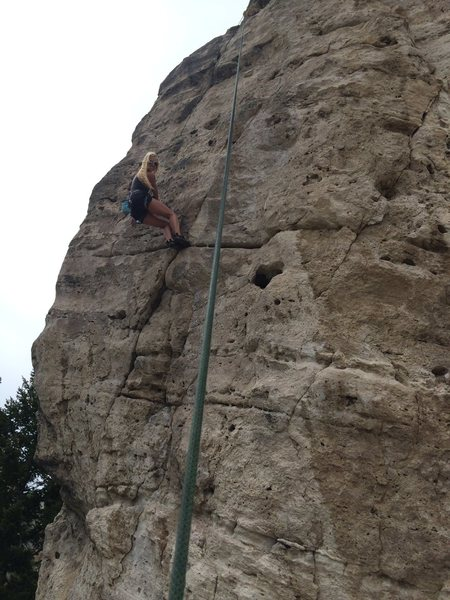 Small Yellowstone crag
