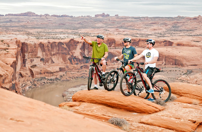 Mountain Biking at Slick Rock