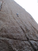 Rock Climbing Photo: Beautiful and thin...