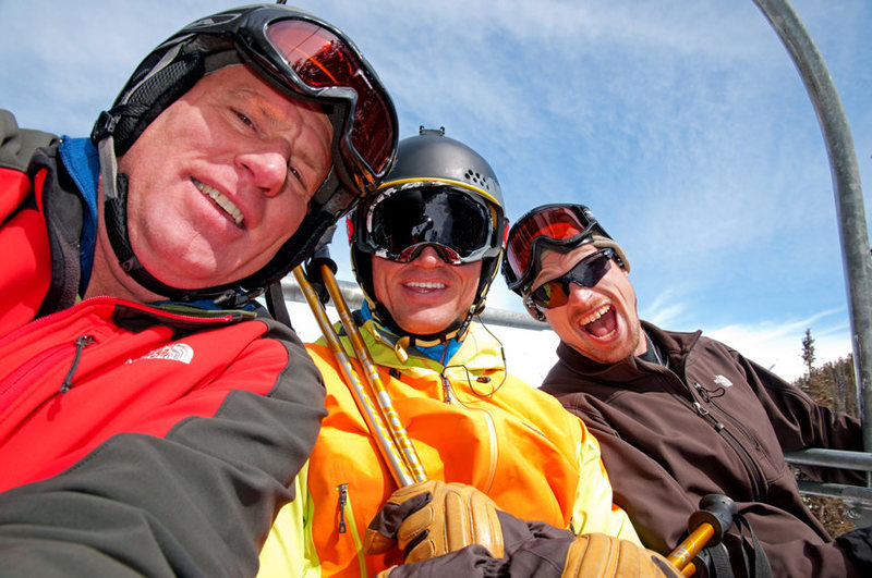 Rock Climbing Photo: Skiing at Telluride, CO