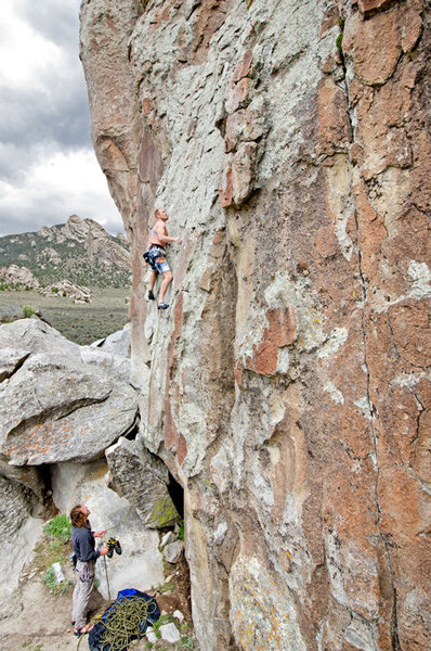Rock Climbing at the City of Rocks, Idaho