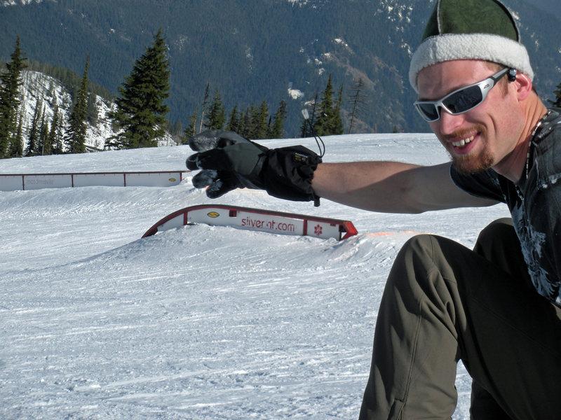 Snowboarding Silver Mountain, ID
