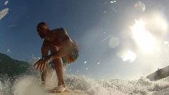 Surfing Santa Barbara, CA