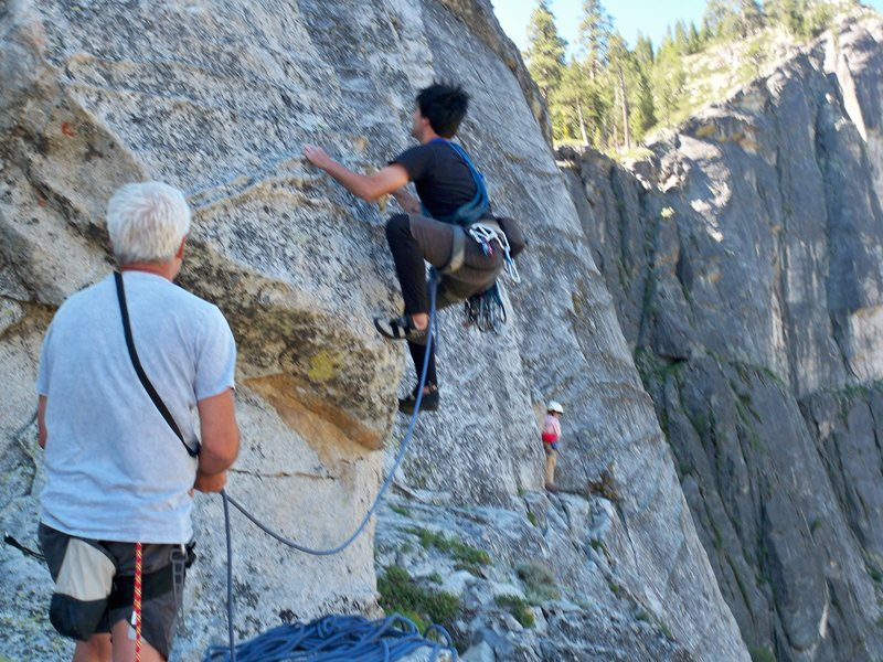 Rock Climbing Photo: Lovers Leap