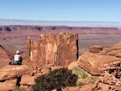 Rock Climbing Photo: Castleton Tower, Moab