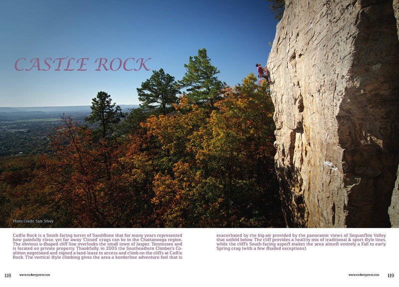 Rock Climbing Photo: Castle Rock Free Day Guide