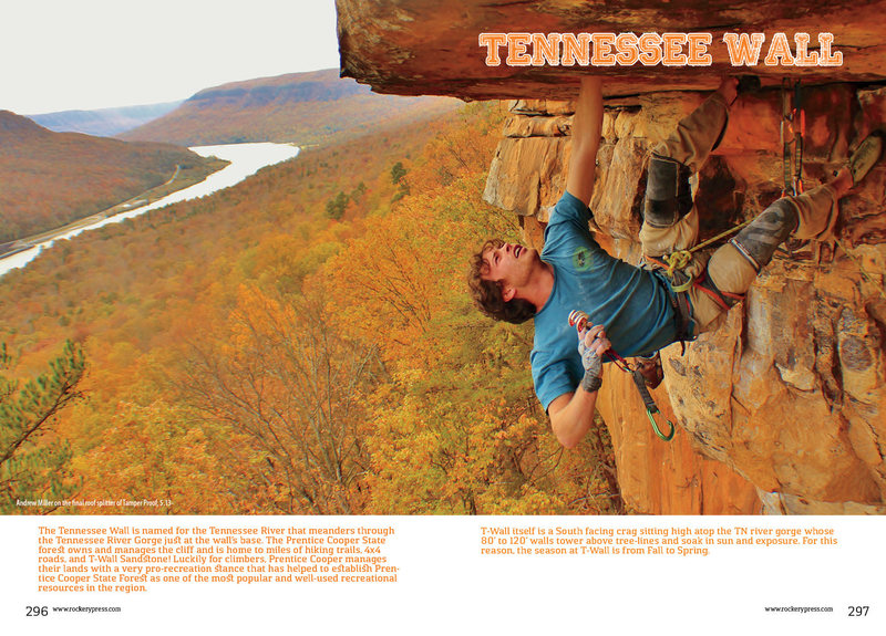 Rock Climbing Photo: Tennessee Wall Day Guide