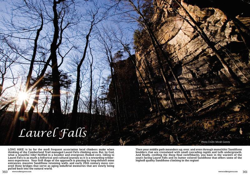 Rock Climbing Photo: Laurel Falls Free Day Guide