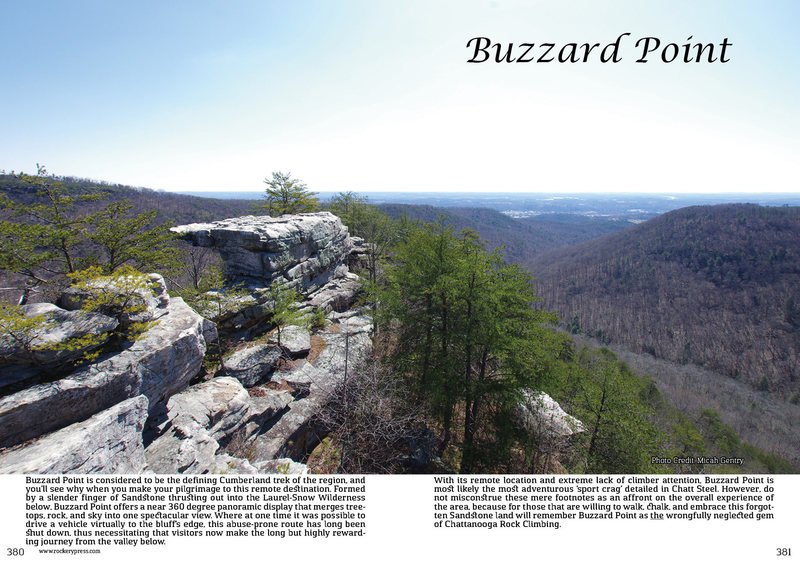 Rock Climbing Photo: Buzzard Point Free Day Guide
