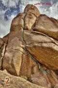 Rock Climbing Photo: Close up of Sky Shot showing details.