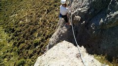 Rock Climbing Photo: p2 belay