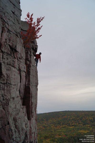 Rock Climbing Photo: Looking back