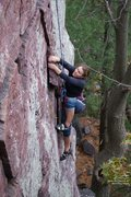Rock Climbing Photo: Jill