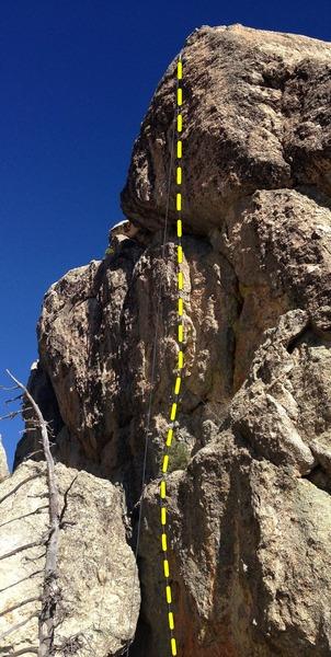 Rock Climbing Photo: Layer Cake