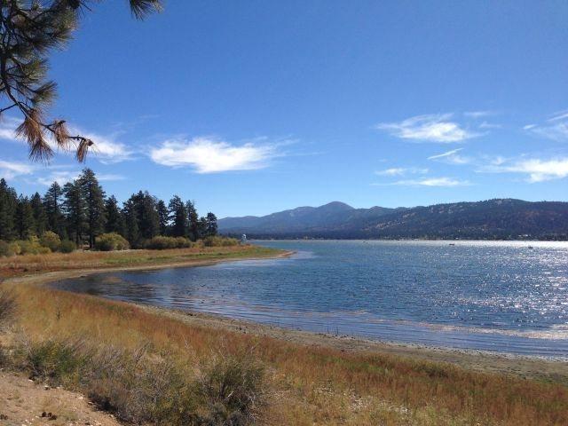 Big Bear Lake and Solar Observatory, San Bernardino Mountains
