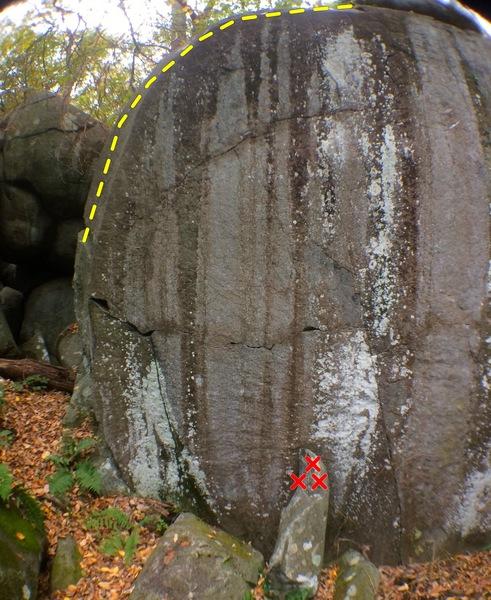 Rock Climbing Photo: Yosemite Arete