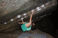 Rock Climbing Photo: My project...