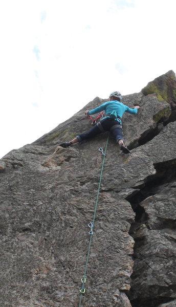 Rock Climbing Photo: Anchor on Lichen This.