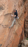 Rock Climbing Photo: Mono to mono-midway  through the crux of Tweak Fuc...