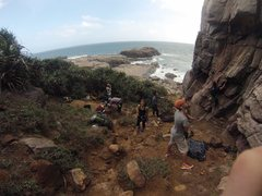 Rock Climbing Photo: Long Dong Taiwan :)