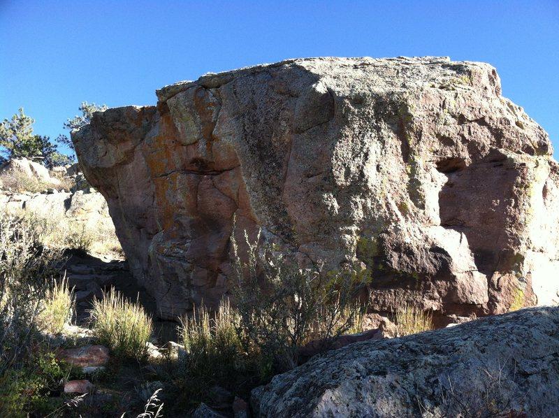 Rock Climbing Photo: Monster Block from below.