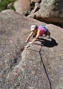 Rock Climbing Photo: Note: 'Unpredictble' is multi-graded (see the desc...