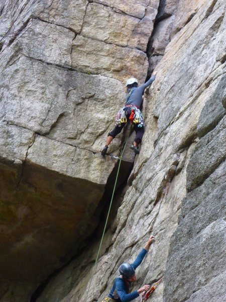 Rock Climbing Photo: Horseman, Gunks