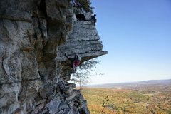 Rock Climbing Photo: The Dangler, Gunks