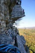 Rock Climbing Photo: The Dangler, Gunks