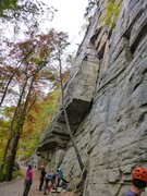 Rock Climbing Photo: Horseman, Gunks
