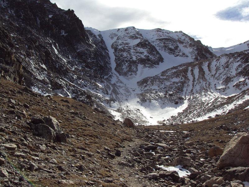 Rock Climbing Photo: Ptarmigan on 6 October, 2014