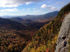 Rock Climbing Photo: the diagonal, adirondacks