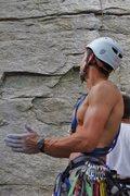 Rock Climbing Photo: Patrick