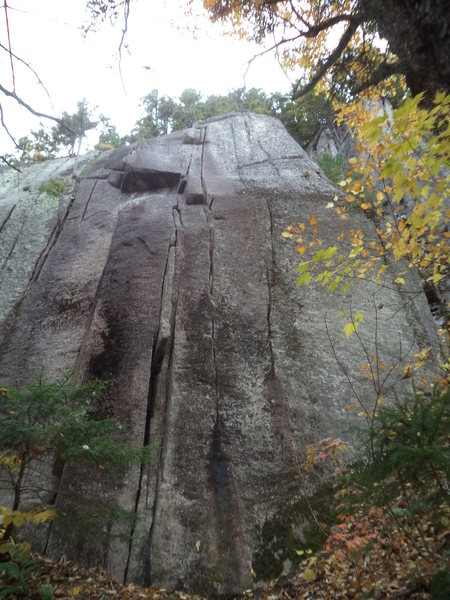Rock Climbing Photo: This shows the whole pitch.