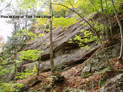 "Rock Climbing Photo: START of ""Pillars"""