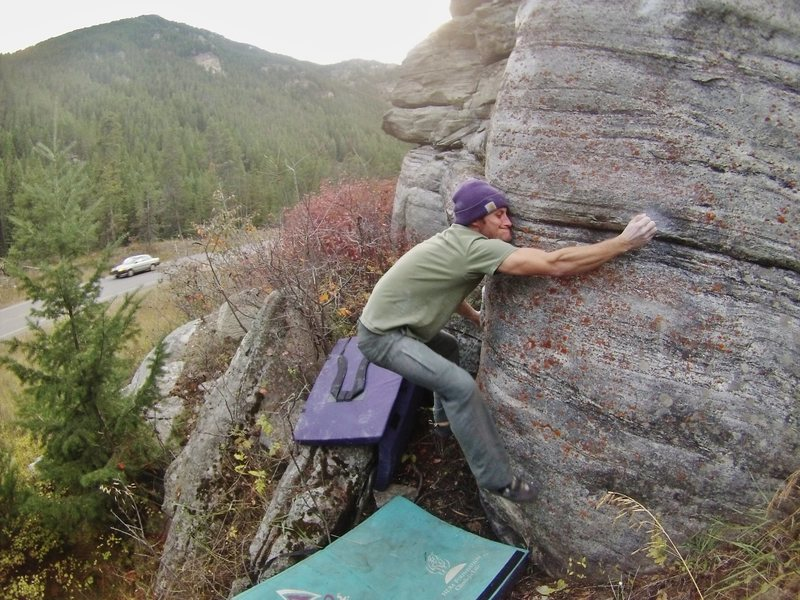 Rock Climbing Photo: Crimp!!!