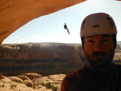 Rock Climbing Photo: bowtie arch