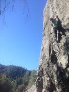 Rock Climbing Photo: cushdi crackage