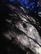 Rock Climbing Photo: bilbo slabbage